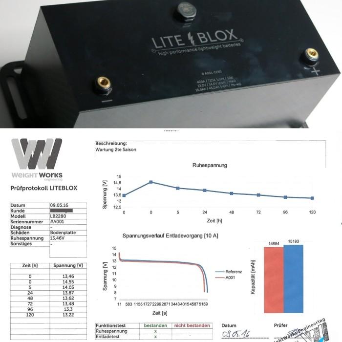 battery test protocol lithium LiFePO4