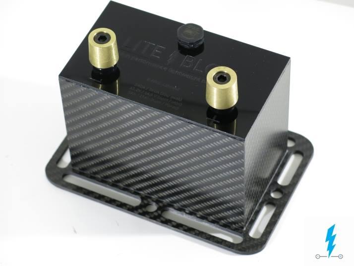 Batterie Prototyp 12V Motorrad LFP LiFePO4 lithium leicht