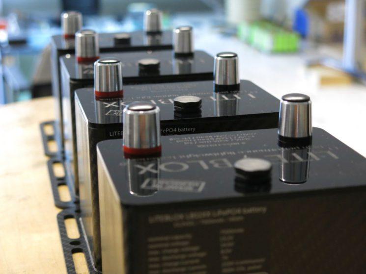 LITEBLOX Fertigung leichte Batterie