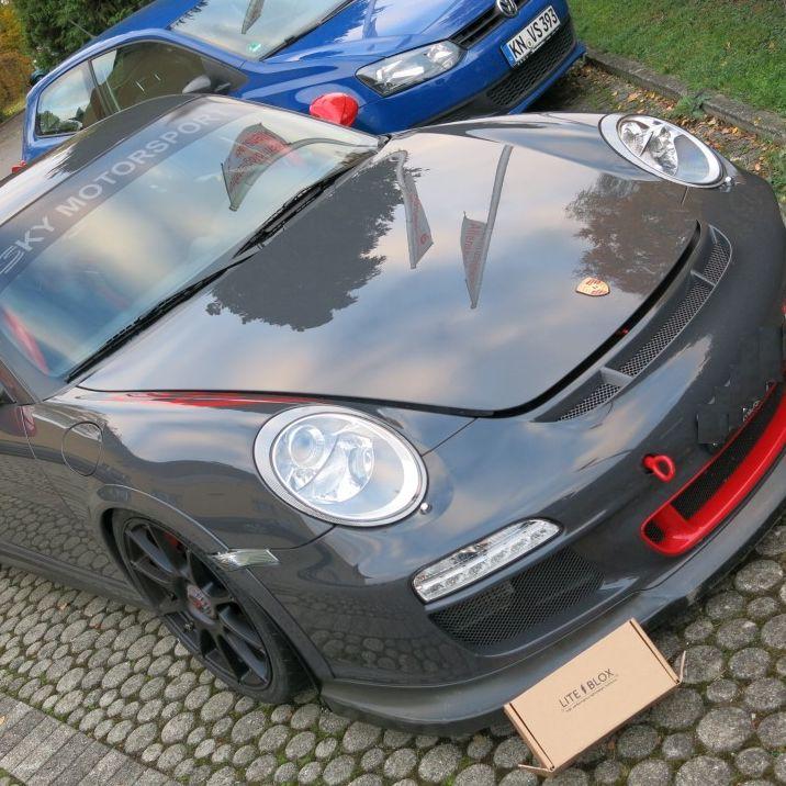 Batterie Porsche Halter leicht