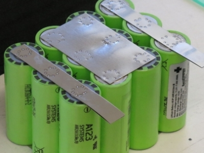 battery cell pack 4s3p LiFePO4 A123