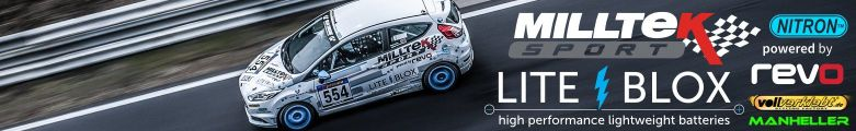 LITEBLOX Ford Fiesta ST VLN Milltek Manheller BTG