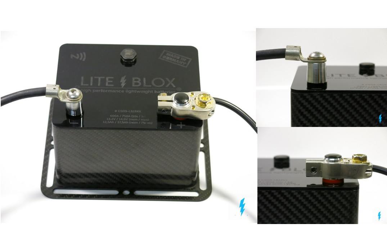 batterie anschluss