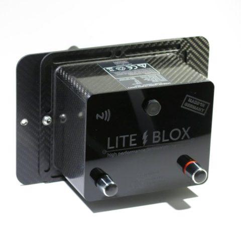 Halter Batterie Nissan GTR CFK carbon leicht