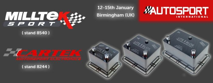 Autosport International Show 2017 LITEBLOX batteries