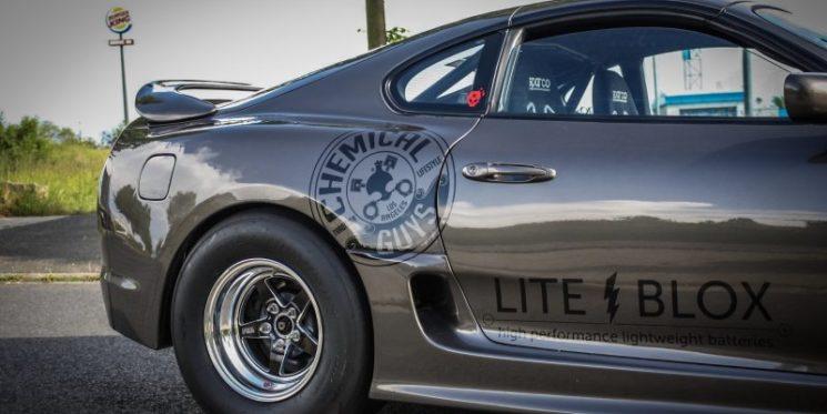 Toyota Supra Dragster mit Straßenzulassung