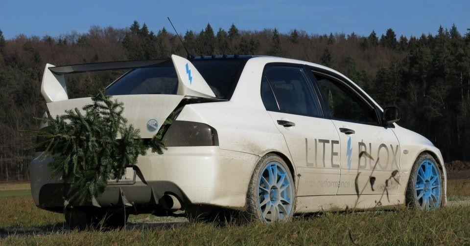 The Christmas Tree Getaway – auf Semislicks durch den Wald