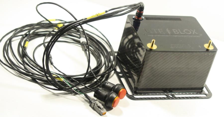 NEU: LITE↯BLOX 16V leichte Batterie für Dragster & Sprint