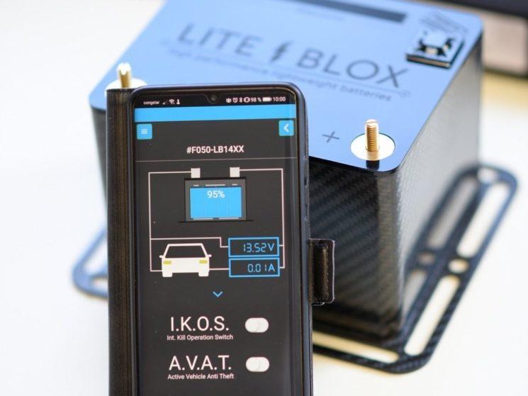 LITEBLOX lightweight battery