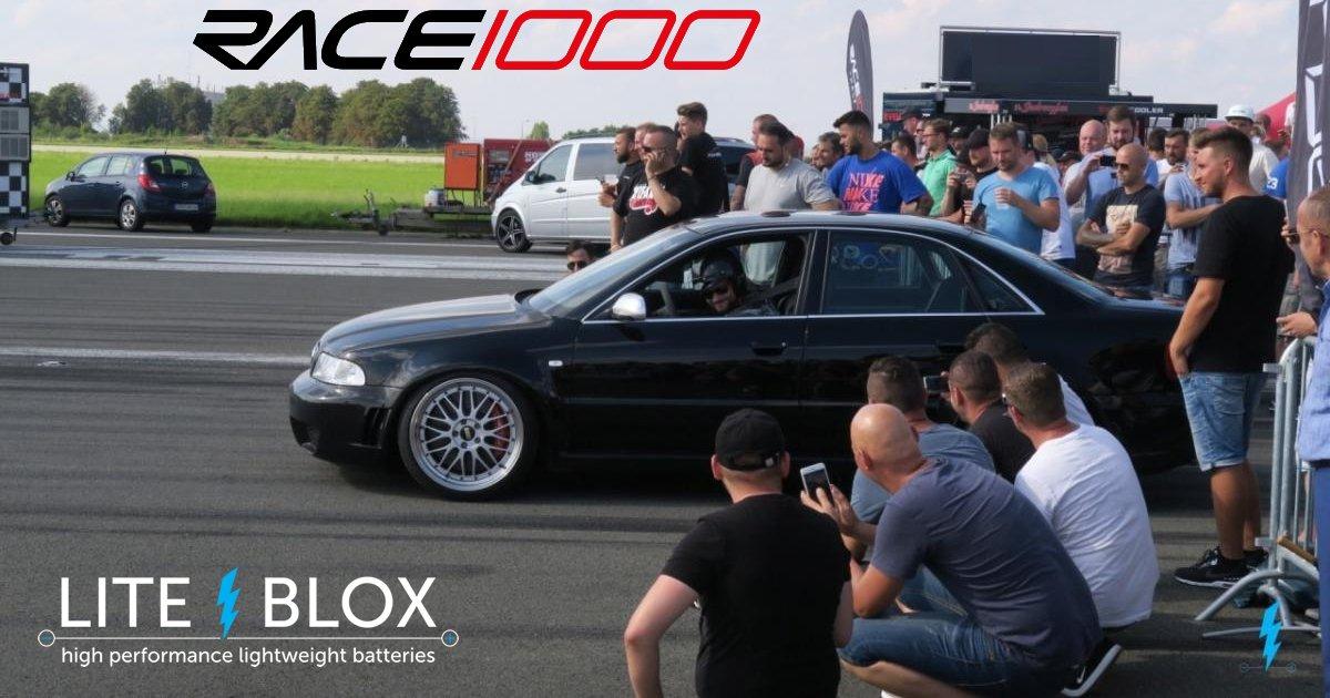 Eindrücke vom RACE 1000 Halbe Meile Dragracing