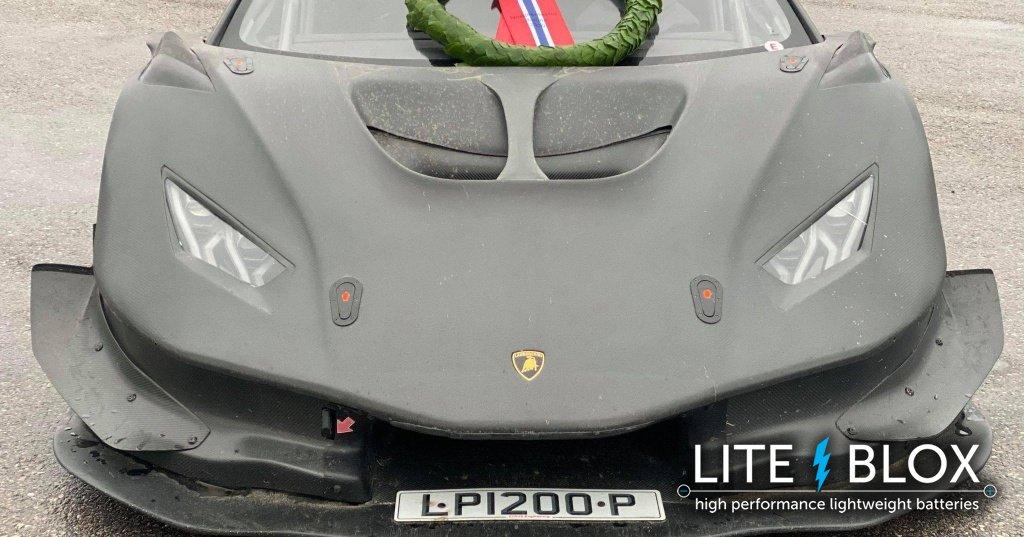 Lamborghini Huracan LP1200 powered by LITE↯BLOX