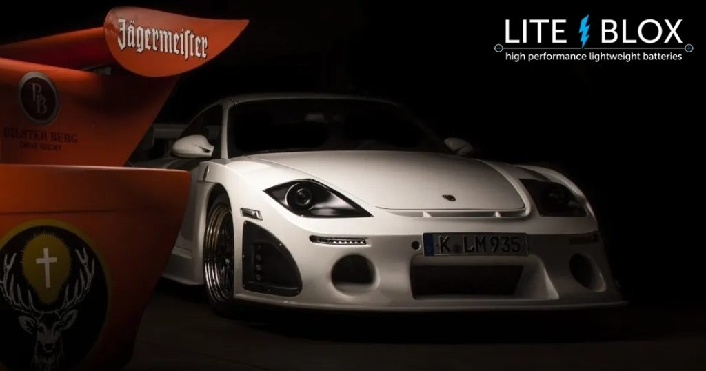 Kremer Porsche 997 K3R powered by LITE↯BLOX