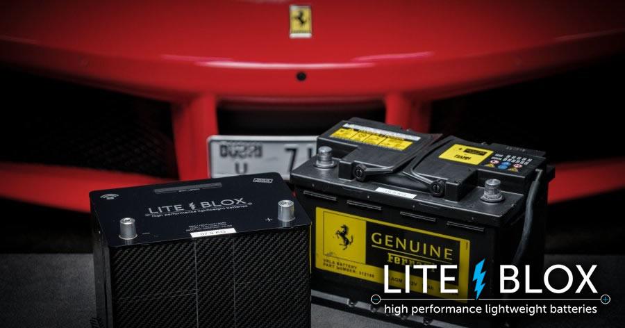Leichtbau-Sonderanfertigung im Ferrari F488