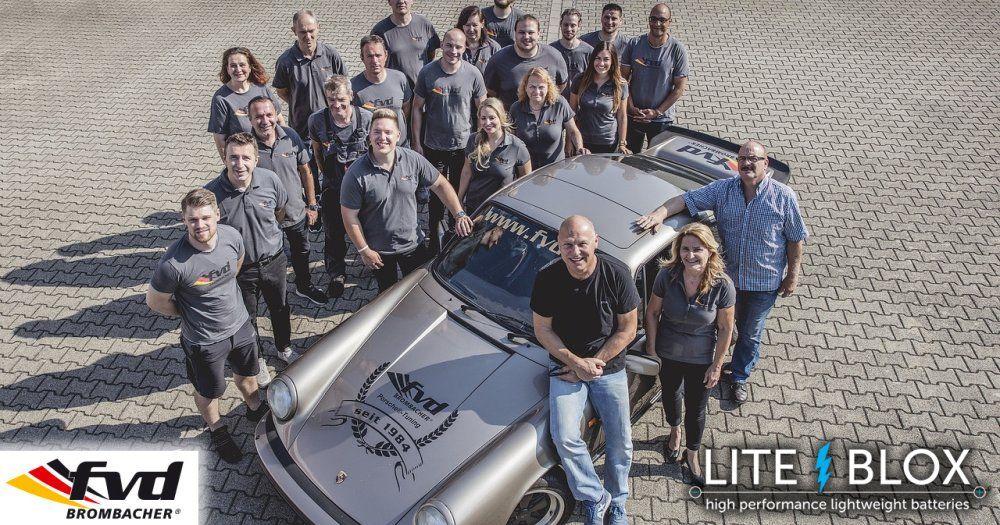 Mit fvd BROMBACHER beim Porsche Treffen Dinslaken