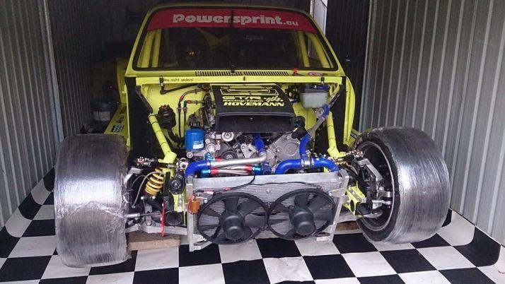 Opel Kadett C Lotus V8